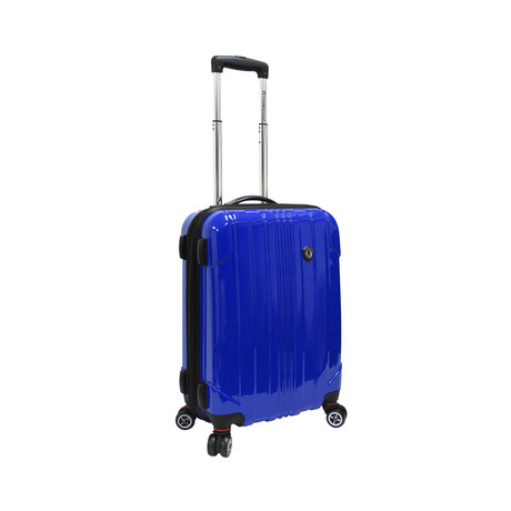 "Sedona Expandable Spinner Luggage // Blue (21"")"