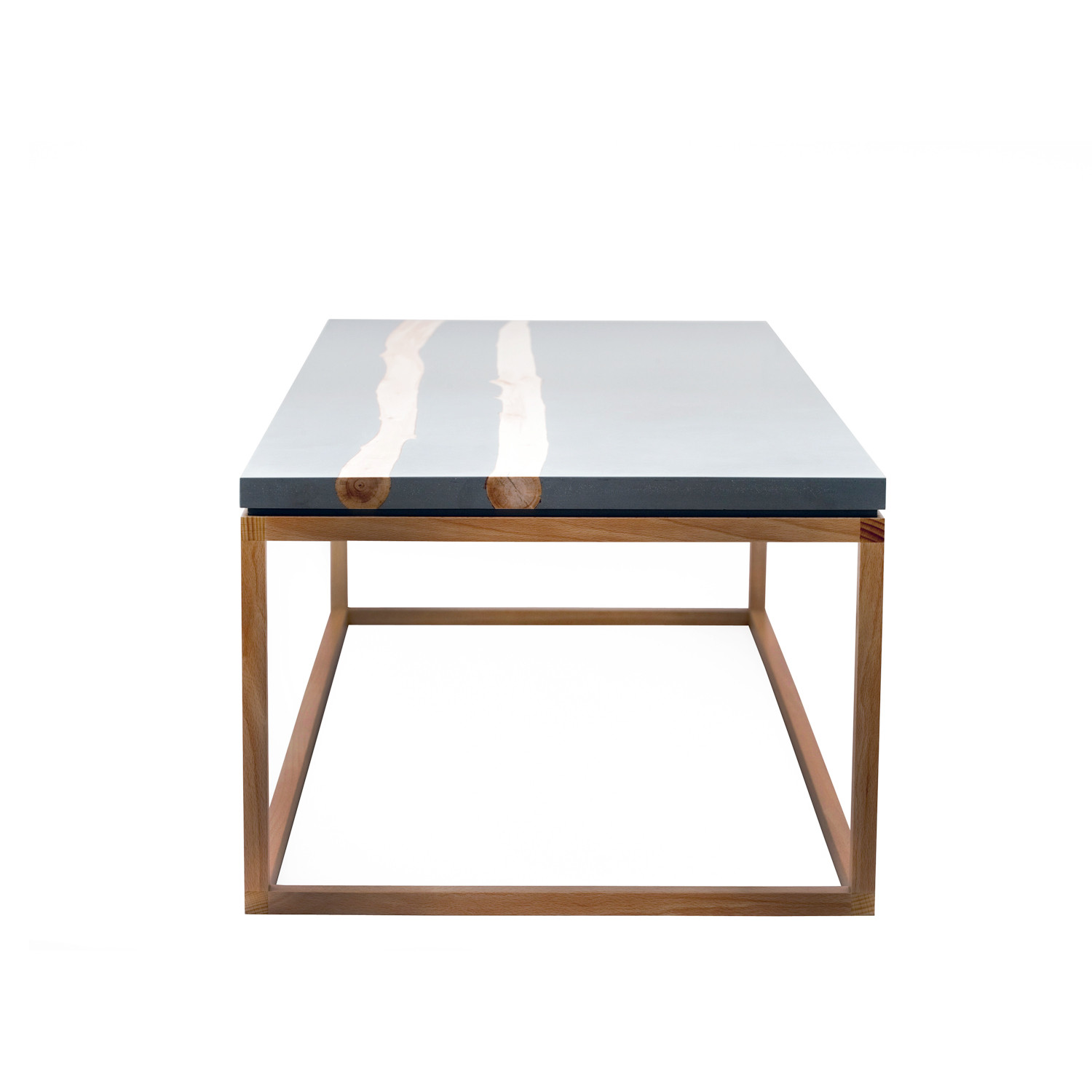 Bloom x coffee table mth woodworks touch of modern for X coffee tables