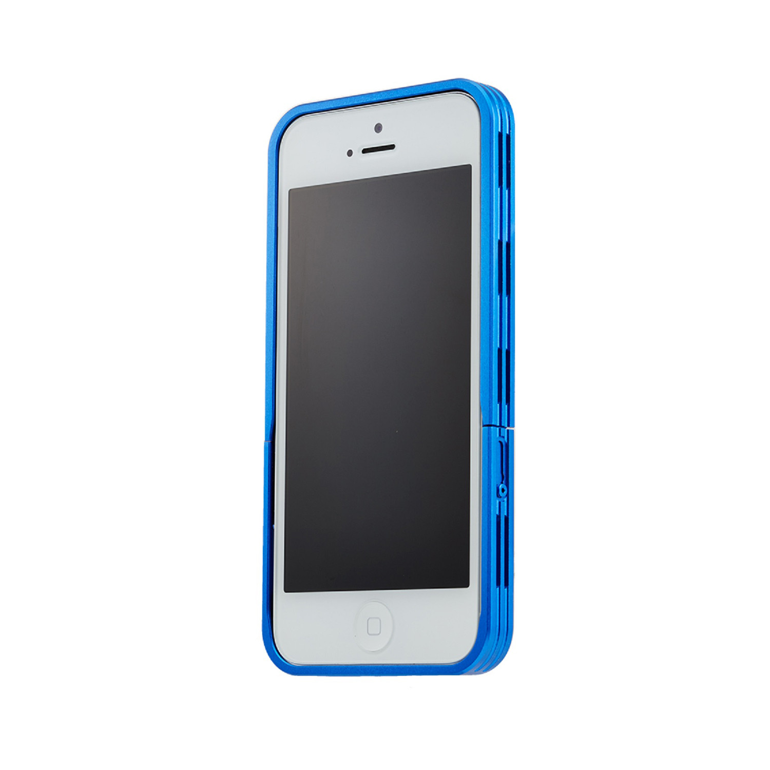 iphone 5s blue simplism aluminism bumper style iphone 5 5s blue 11170