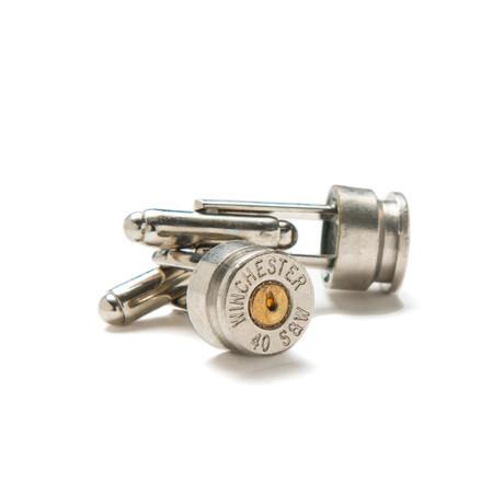 40 Caliber Winchester Cufflinks