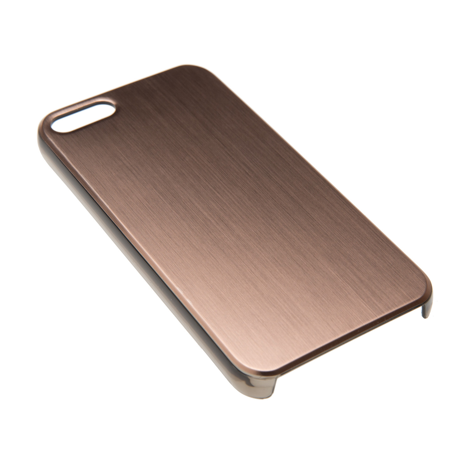 brushed metallic rose gold iphone 5 5s felony case. Black Bedroom Furniture Sets. Home Design Ideas