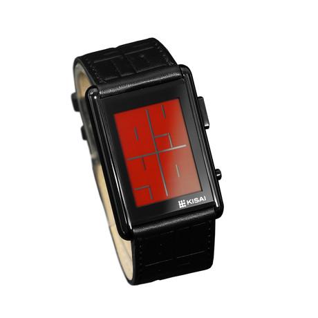 Tokyoflash Stencil Digital // Black + Red LCD