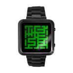 Tokyoflash Maze // Digital (Black + Mirror LCD)