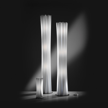 Bach Floor Lamp // White (X-Large)