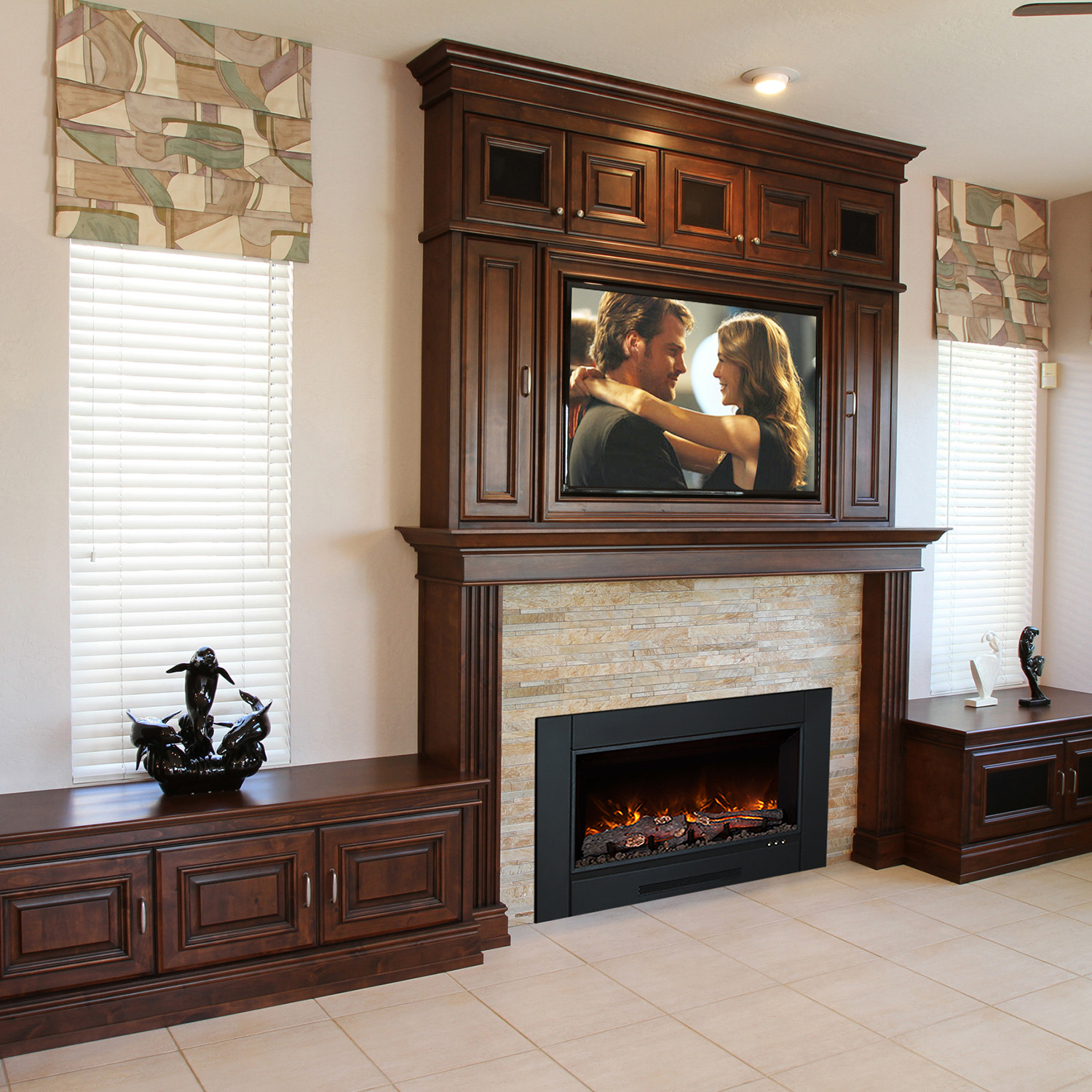Large Electric Fireplace Best 2017 - Large Electric Fireplace Inserts - Best Fireplace 2017