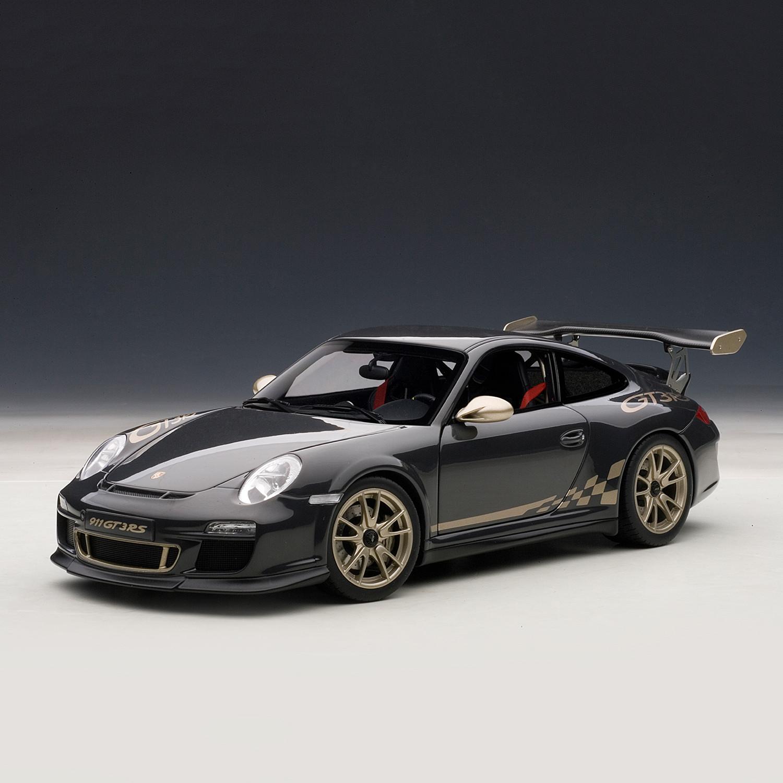 Porsche 911 White: Porsche 911 (997) GT3 RS, Grey Black W/White Gold Metallic