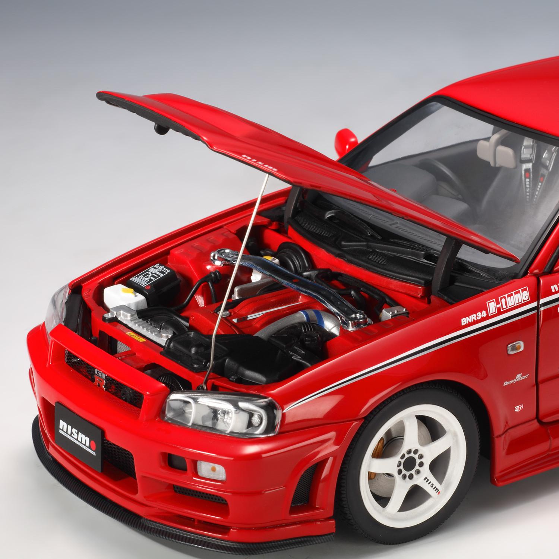 Nissan Skyline Gt R R34 Nismo R Tune Version Red Auto