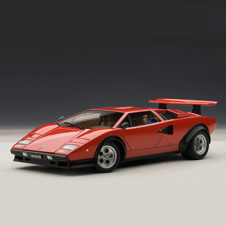 Lamborghini Countach Walter Wolf Edition Red