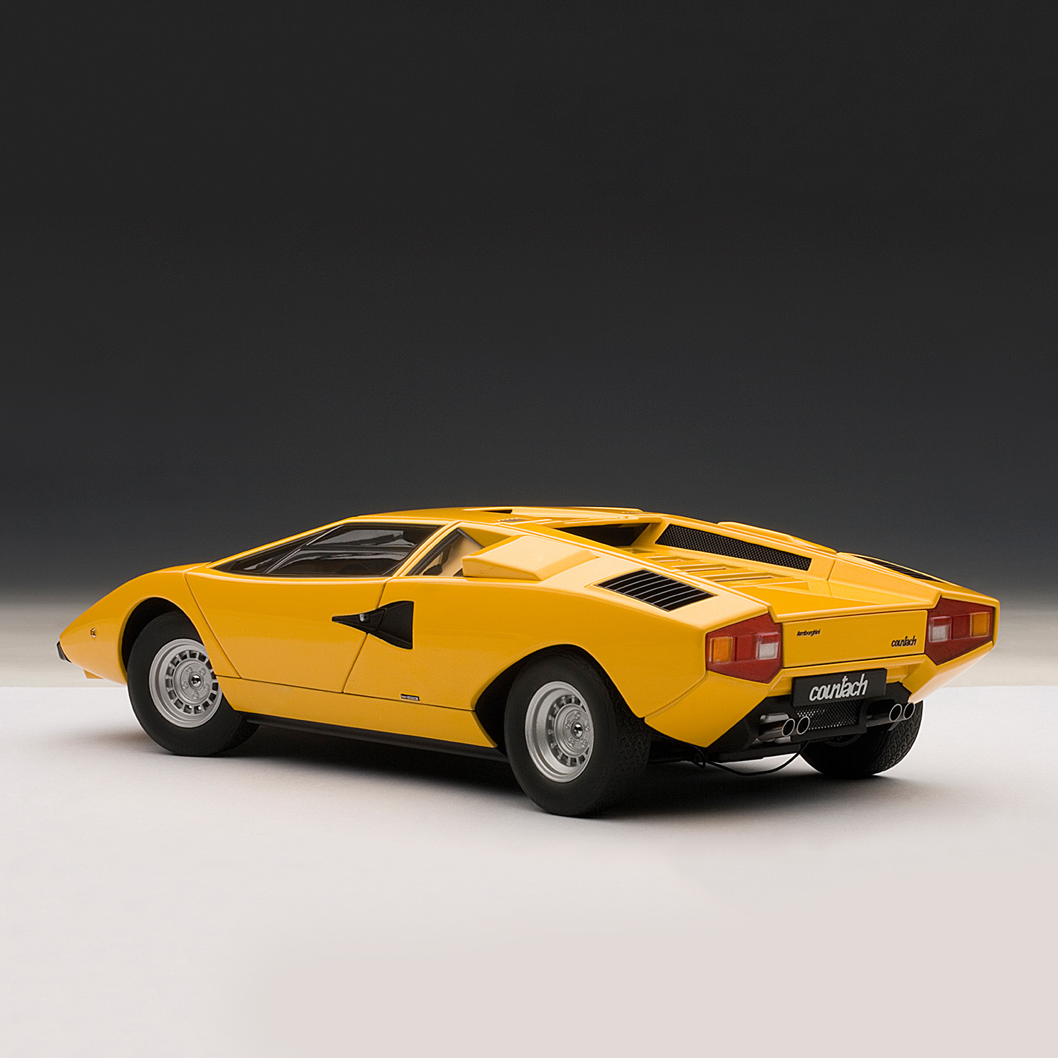 lamborghini countach lp400s yellow auto art touch of modern. Black Bedroom Furniture Sets. Home Design Ideas