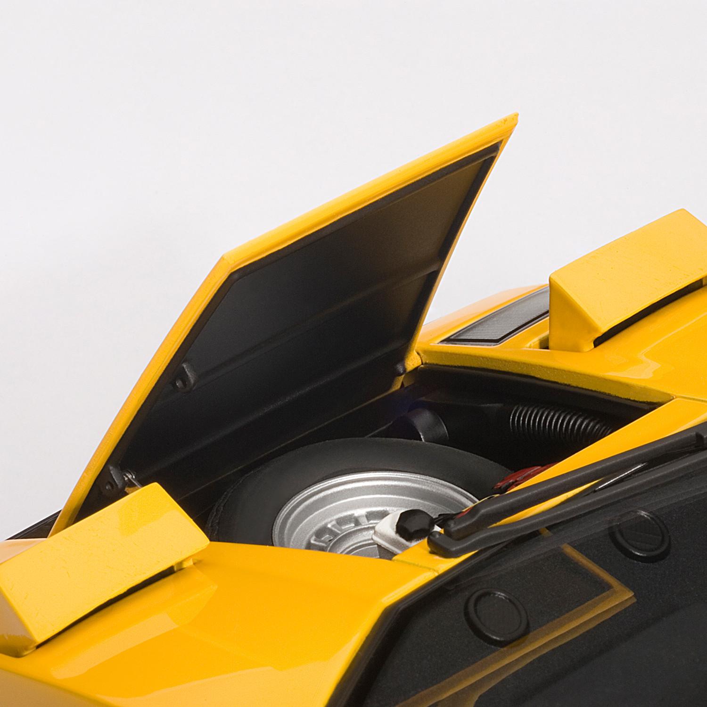 Lamborghini Countach Lp400s Yellow Auto Art Touch Of