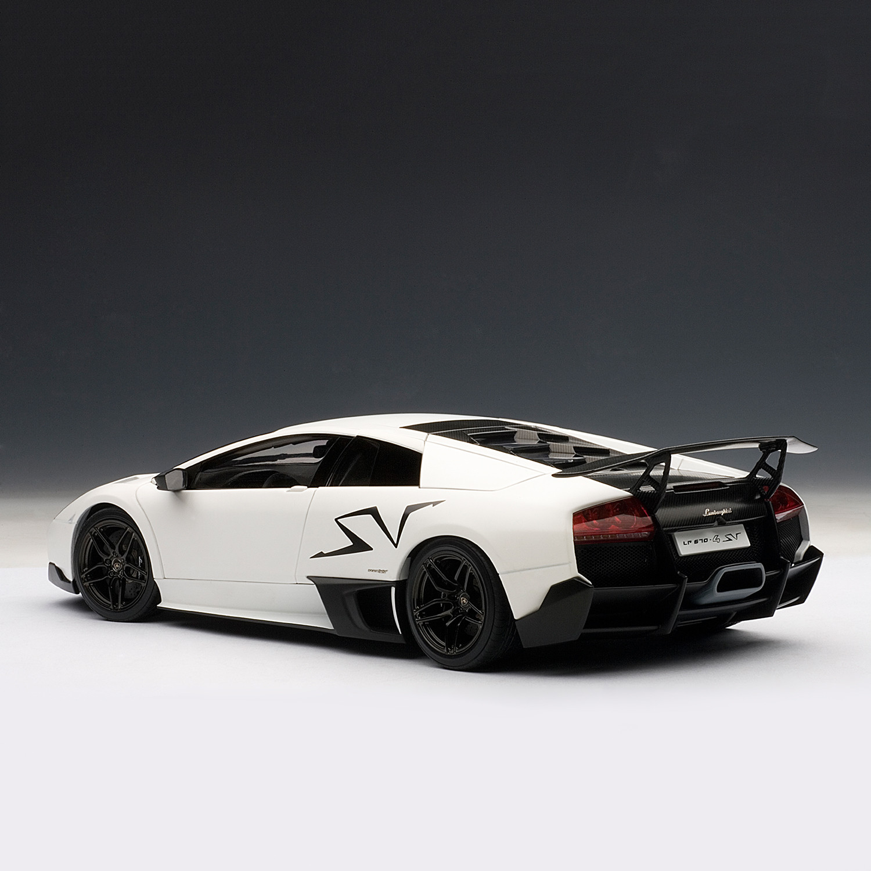 Lamborghini Murcielago Lp670 4 Sv Bianco Canopous Matte White Auto Art Touch Of Modern