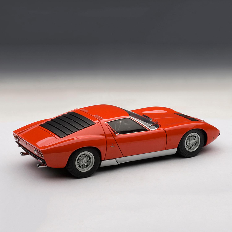 Lamborghini Miura Sv Red Auto Art Touch Of Modern
