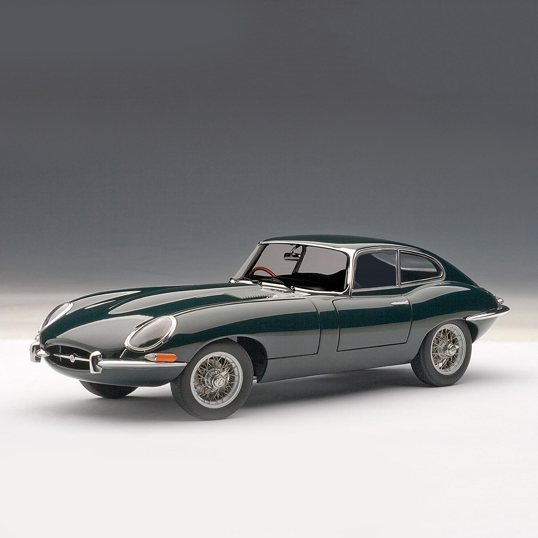 Jaguar E Type: Jaguar E-Type Coupe Series 1 3.8 (Green)