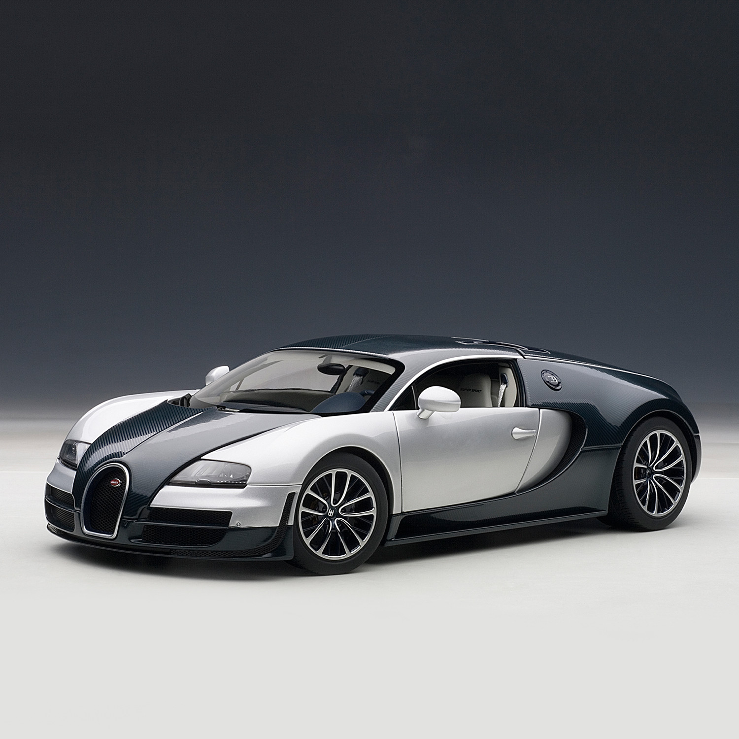 Bugatti Veyron Super Sport Black Orange
