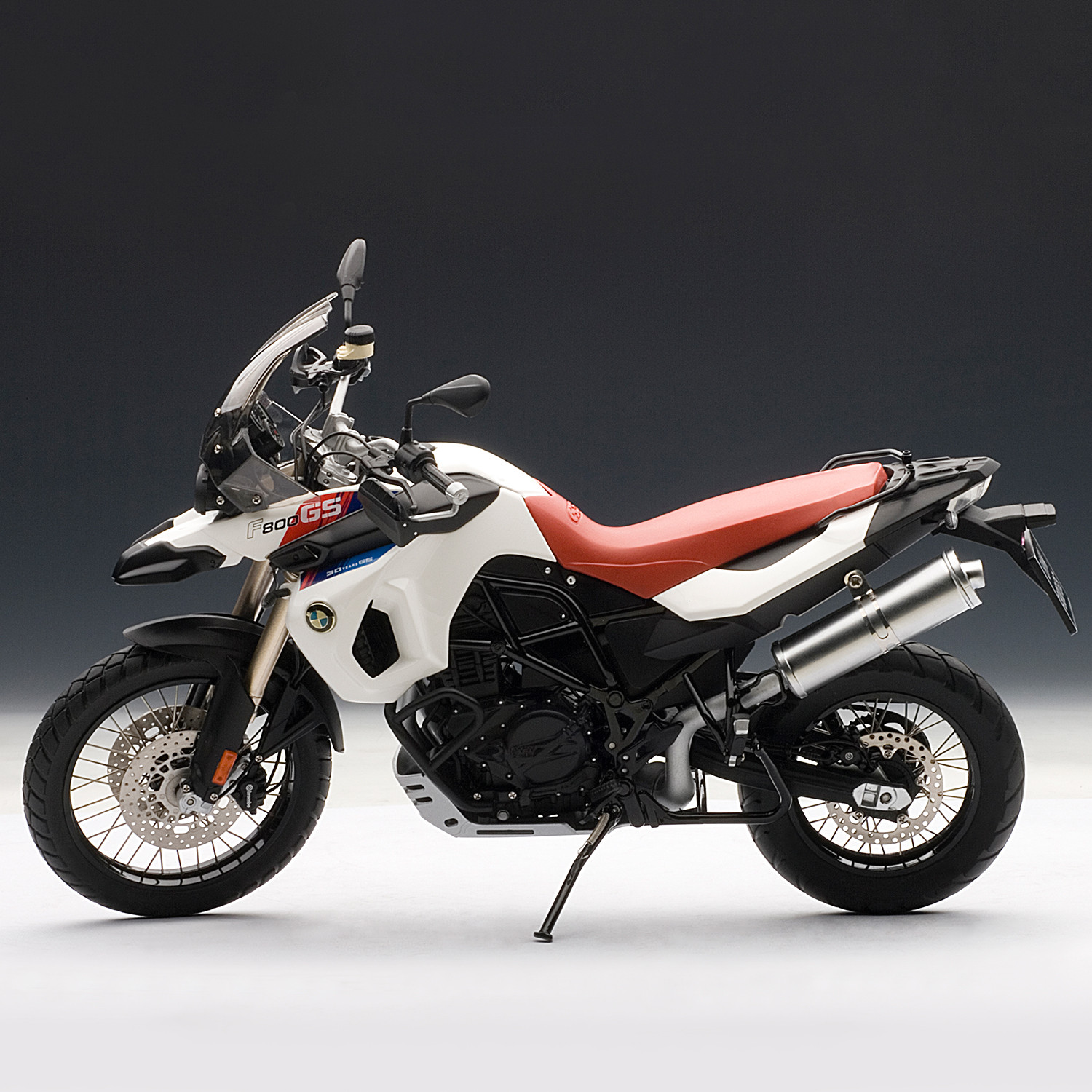 bmw f800 gs motor bike 30th anniversary edition auto art touch of modern. Black Bedroom Furniture Sets. Home Design Ideas