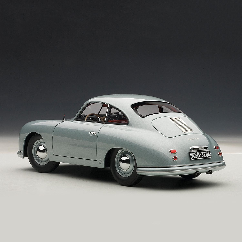Silver Porsche 356: Porsche 356 Coupe 1950