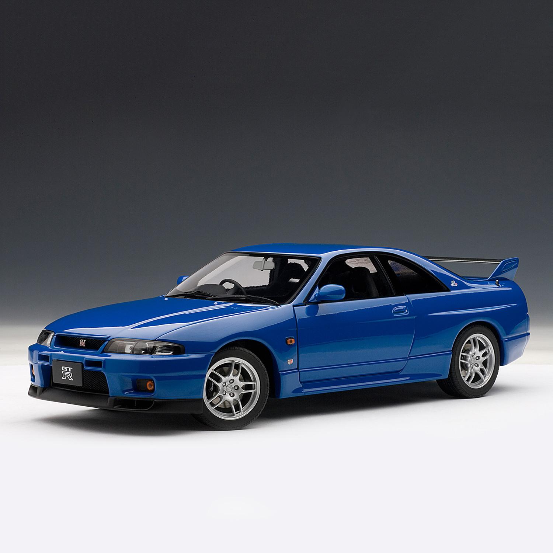 nissan skyline gt r r33 l m limited edition auto art touch