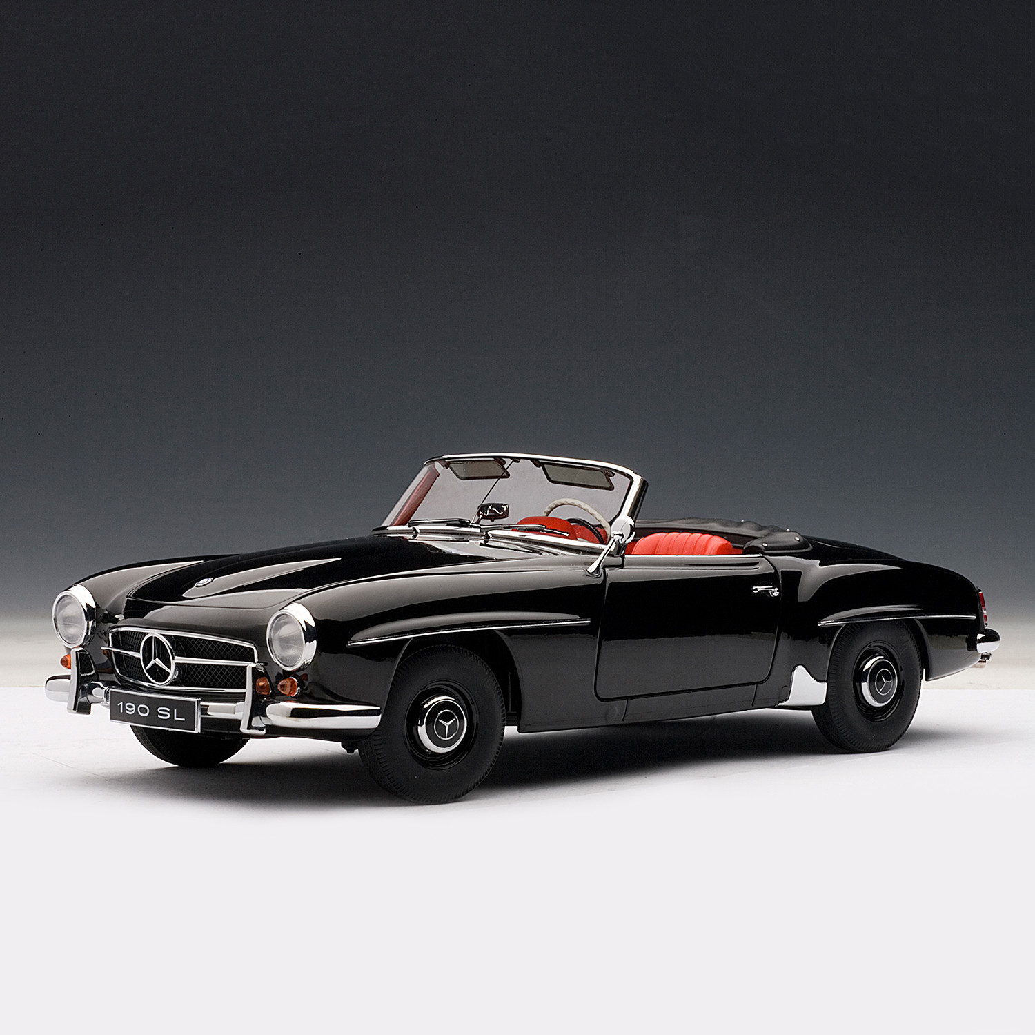 Mercedes benz 190sl red auto art touch of modern for Mercedes benz christmas commercial