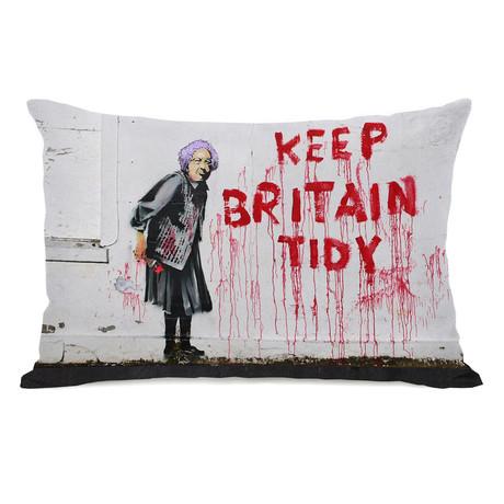 Keep Britain Tidy // Pillow