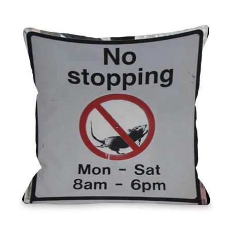 No Stopping // Pillow