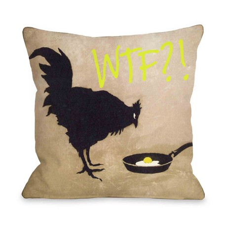 Chicken and Egg WTF // Pillow