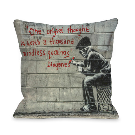 One Original Thought // Pillow