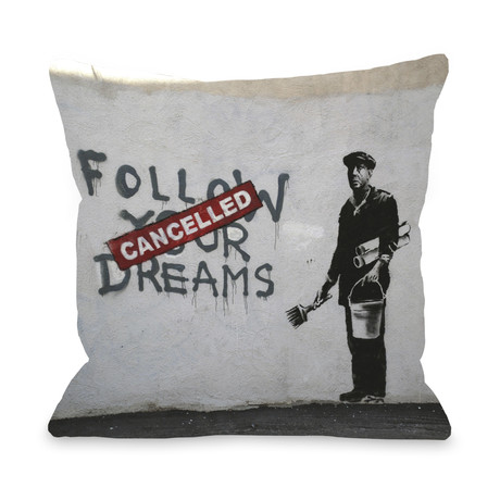 Dreams Cancelled // Pillow