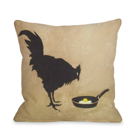Chicken and Egg // Pillow