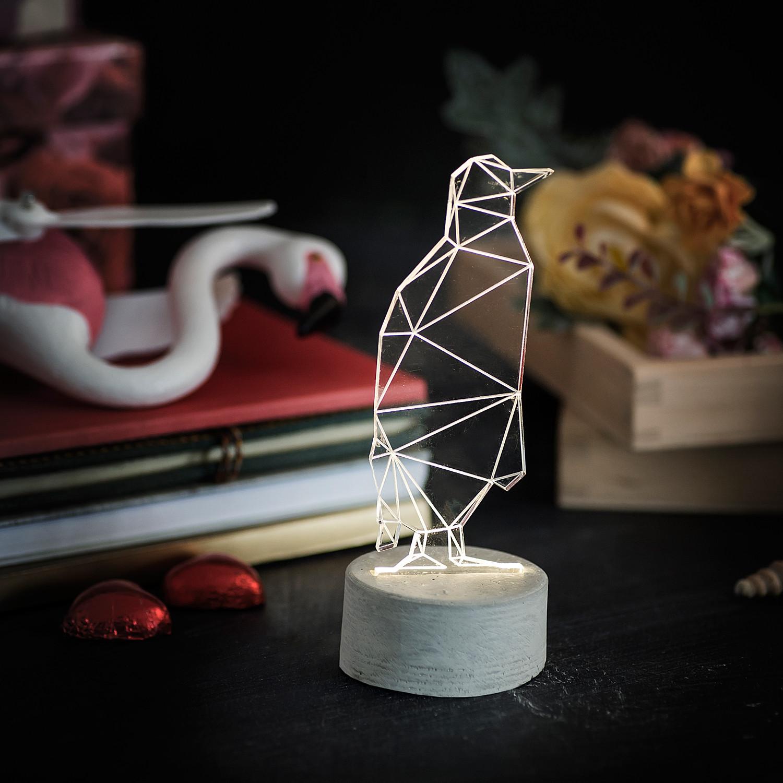 Penguin Lamp (White)