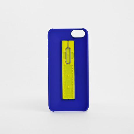 SIMPLcase iPhone Case // Admiral Blue + Lemon Zest