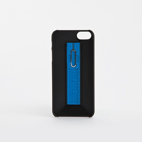 SIMPLcase iPhone Case // Graphite + Helios Blue