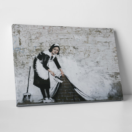 "Maid In London (20""L x 16""H)"