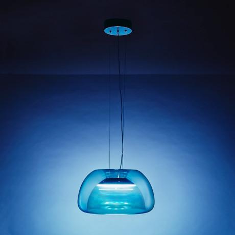 Aurelia Suspension Lamp (Blue)