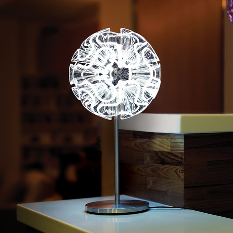 Coral Table Lamp // Clear