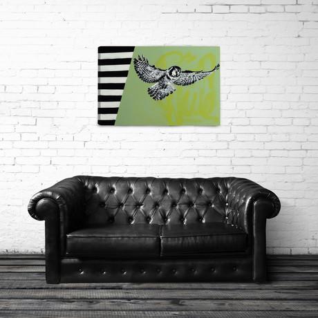 "Barn Owl 2 (24""L x 16""H)"