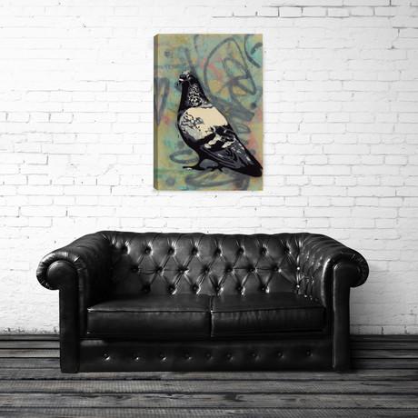 "Rock Pigeon (16""L x 24""H)"