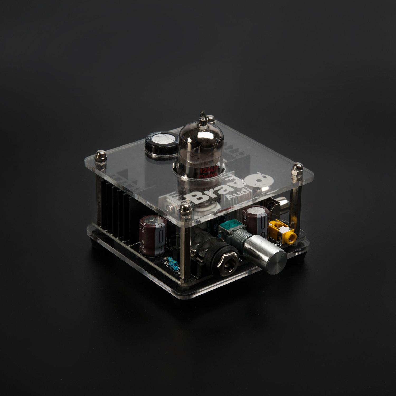 Bravo V2 // Tube Headphone Amplifier - Bravo Audio