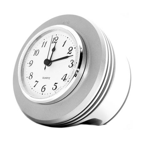 J-Cobs Metallic Desk Clock