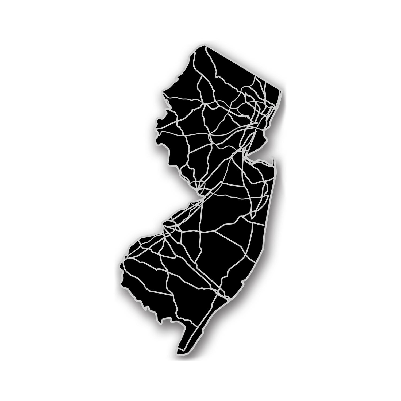 New Jersey // Acrylic Cutout State Map - Modern Crowd - Touch of Modern