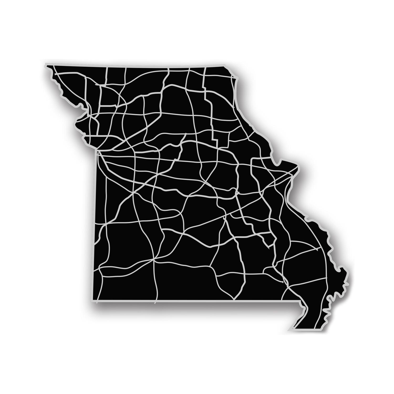 Missouri // Acrylic Cutout State Map - Modern Crowd - Touch of Modern