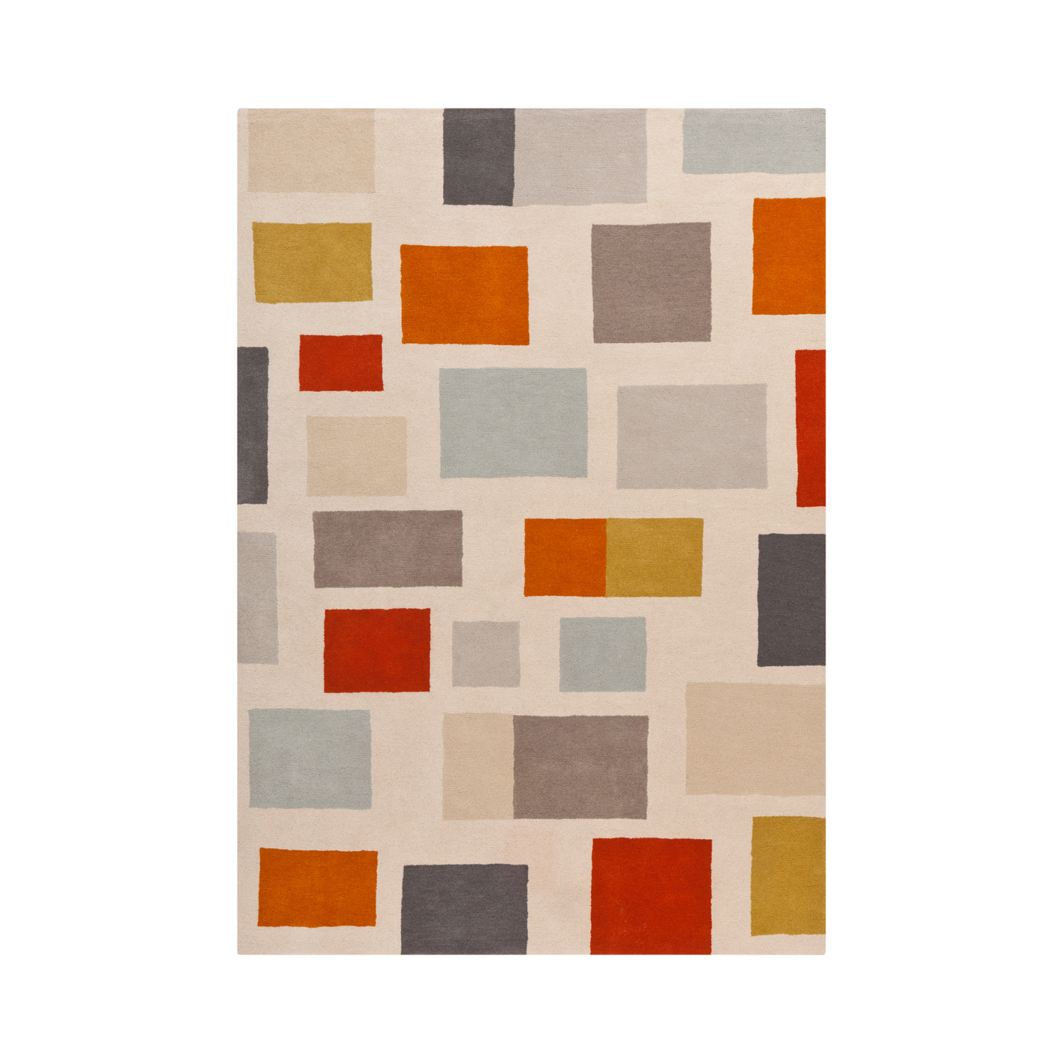 Scion Rust Burnt Orange Gray 2 x 3 Surya Rugs