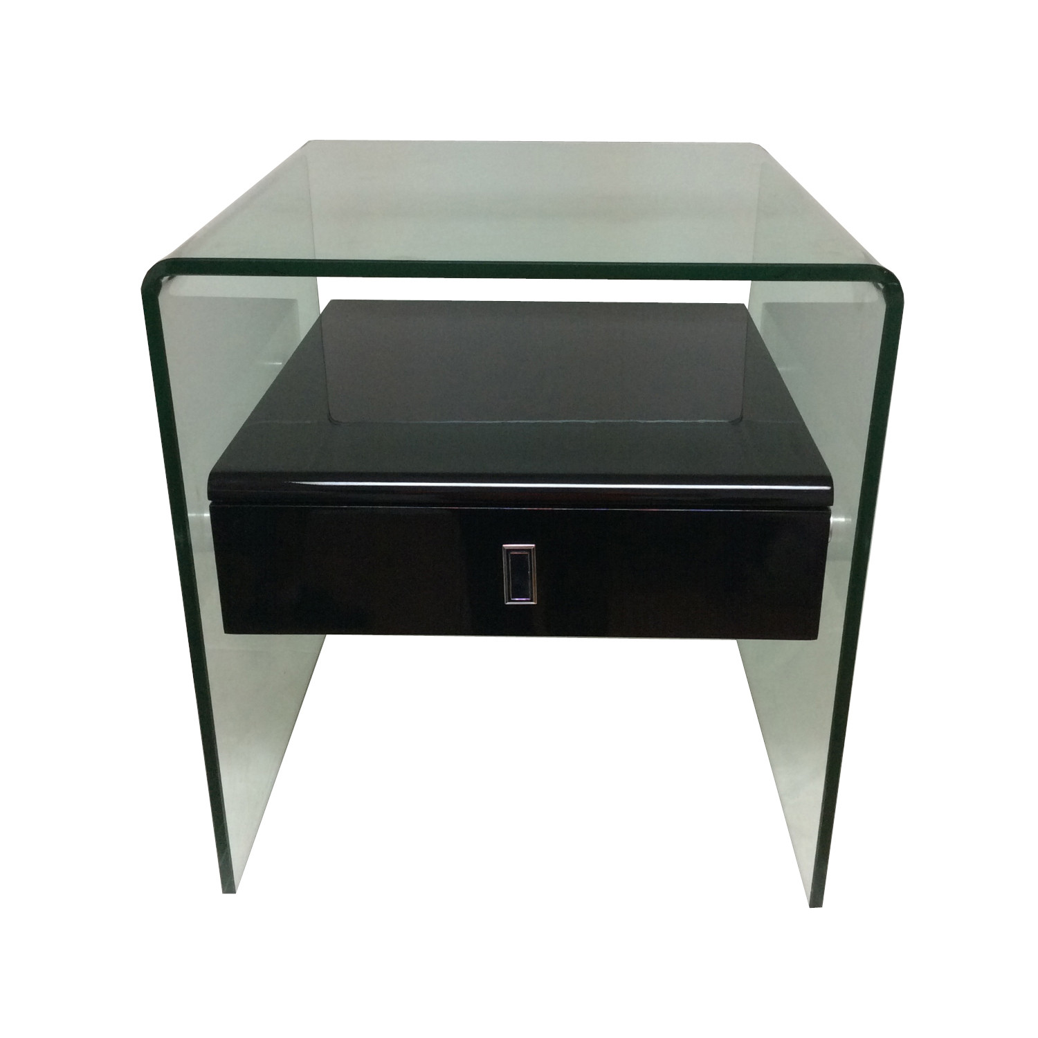 Mdf Cheap Price Coffee Table White High Gloss Center Table: Bari Side Table (White High Gloss)
