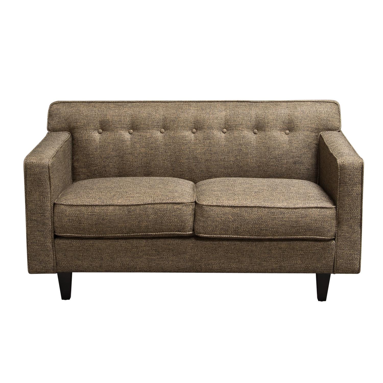 midcentury loveseat  diamond sofa  touch of modern - midcentury loveseat