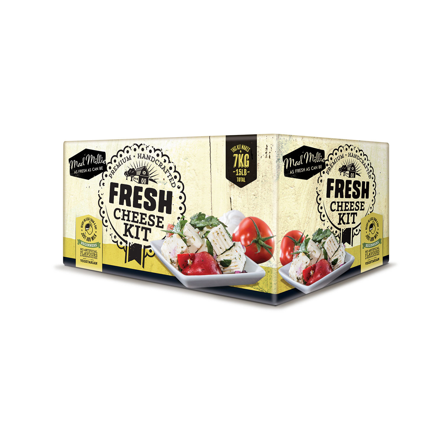 Fresh Cheese Kit Mad Millie Touch Of Modern