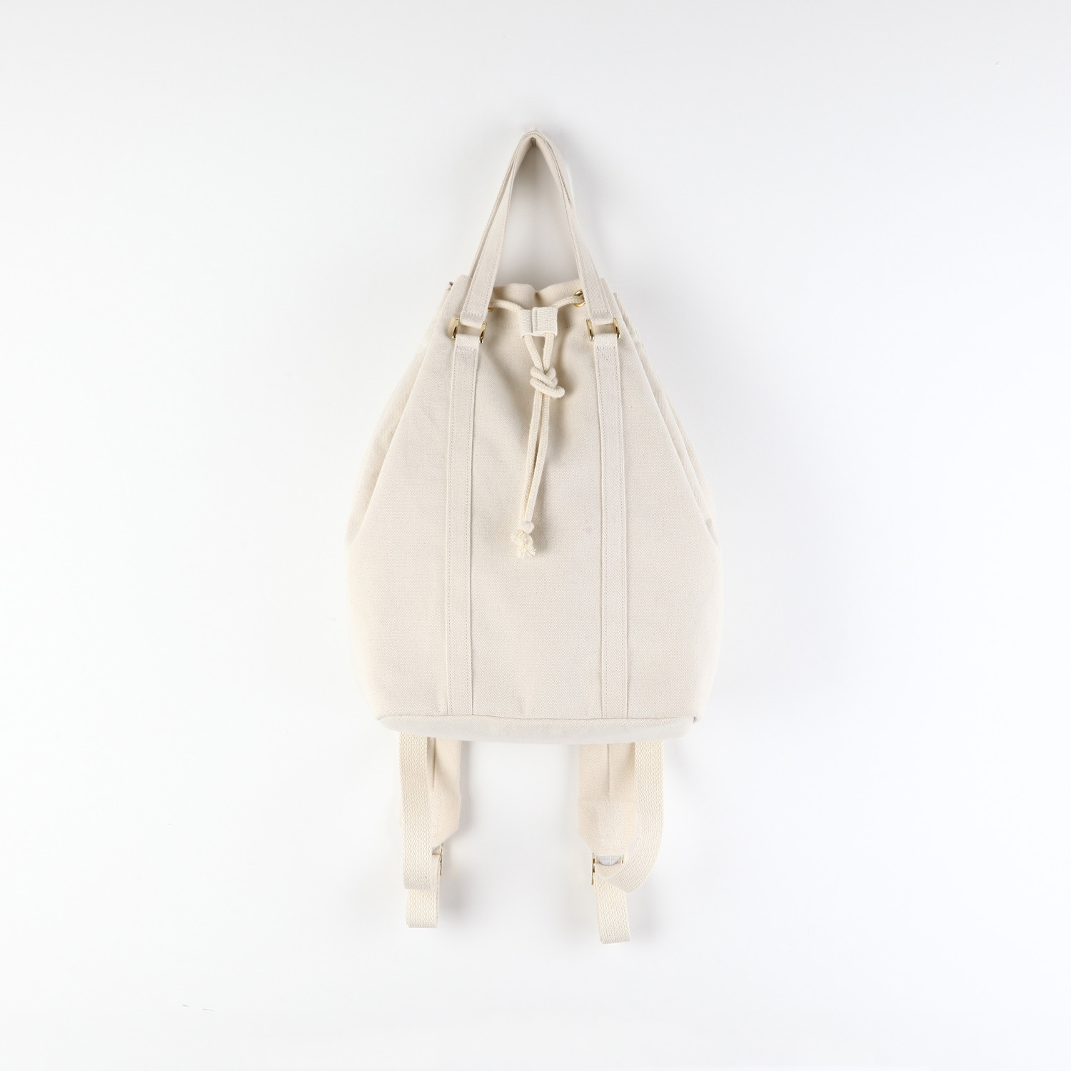 Bucket Backpack White Ithinkso Touch Of Modern