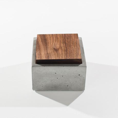 Square Concrete Box (Gray)