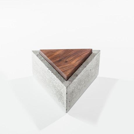 Triangle Concrete Box (Gray)