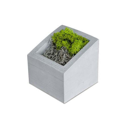 ANGL Concrete Planter (Gray)