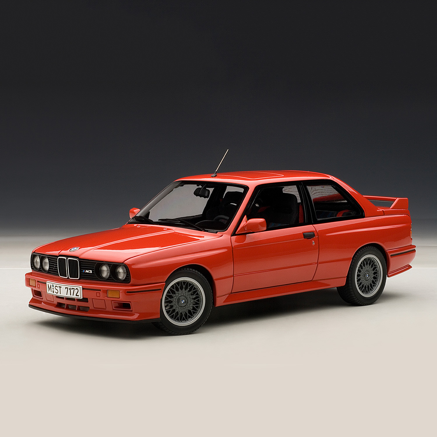 bmw e30 m3 sport evolution black auto art touch of. Black Bedroom Furniture Sets. Home Design Ideas