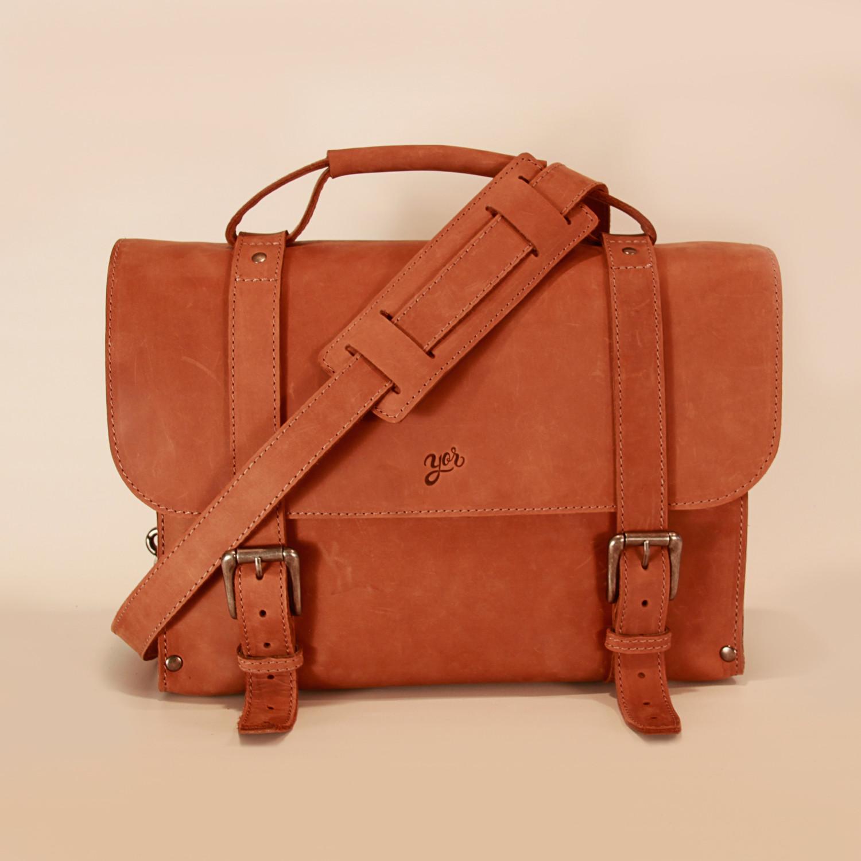 Briefcase Cedar Yor Leather Touch Of Modern